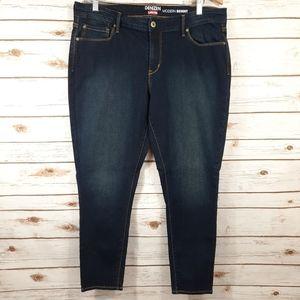 Denizen Levi's Dark Wash Modern Skinny Jean Short